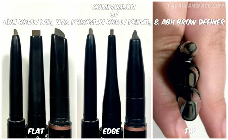 Nyx precision brow pencil review swatches wear test comparisons i measured the widths of the flat and the edge for each pencil to get some quantifiable information nyx precision brows measurements were both notably publicscrutiny Images